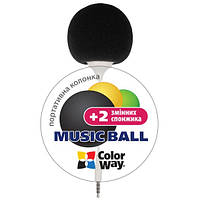 Мини колонка Music Ball CW-005 Black