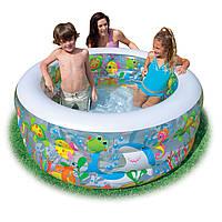 Детский надувной игровой бассейн Intex 58480, 152*56 см, дно воздушная камера, 3,5 кг