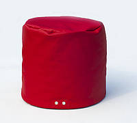 [ Пуф Volt H-2210 S + Подарок ] Универсальный мягкий пуф цилиндр красный
