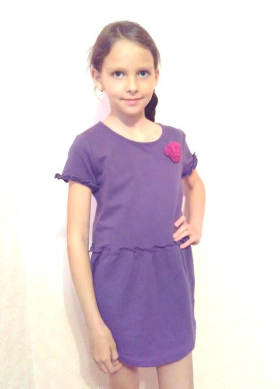 Детские платья Sofie Gray (Польша) 5-8 лет хлопок 95% 116, 122, 128, 134 размеры