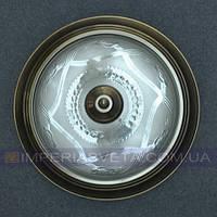 Светильник накладной, на стену и потолок IMPERIA двухламповый (таблетка) LUX-533055