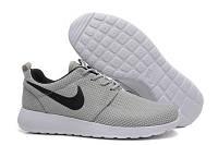 Кроссовки Nike Roshe Run Gray Серые мужские