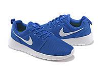 Кроссовки Nike Roshe Run Blue Синие мужские