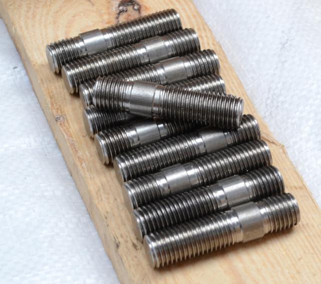 Шпильки с ввинчиваемым концом длиной 1.25d ГОСТ 22034-76, DIN 939 | Фотографии принадлежат предприятию Крепсила