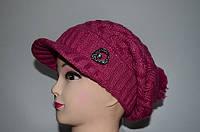 Женская шапка с козырьком, фото 1