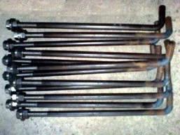 Болт фундаментный М16х500 ГОСТ 24379 тип 1 исп. 1