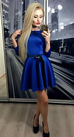"Платье ""СОЛНЦЕ"", электрик"