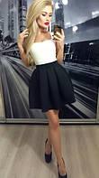 """Женская юбка """"Колокол"""", черная"""