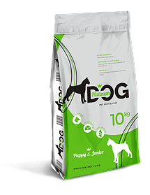 PLATINUM DOG PUPPY & JUNIOR сухой корм для щенков и мелких пород собак,10 кг