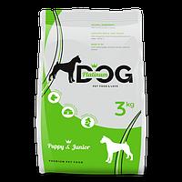 PLATINUM DOG PUPPY & JUNIOR сухой корм для щенков и мелких пород собак, 3 кг
