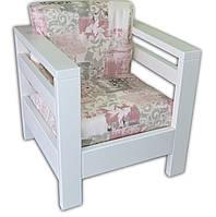 Кресло для террасы на деревянном каркасе
