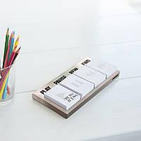 Блок для записей Pressing Matters Rocketdesign Silver