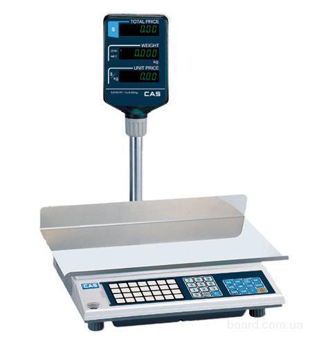 Весы торговые CAS AP-EX-15