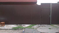 Забор из профнастила 2,30 м, фото 1