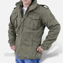 Куртка М-65 Vintage  цвет олива(SURPLUS) Германия