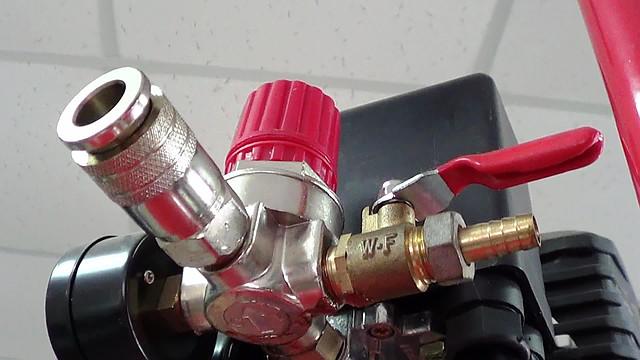 Поршневой компрессор Forte FL 25 ― коннектор (профиль)