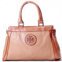 Женская сумка Tory Burch  персиковый