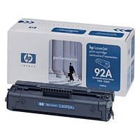 Картридж лазерный черный HP №92A Black