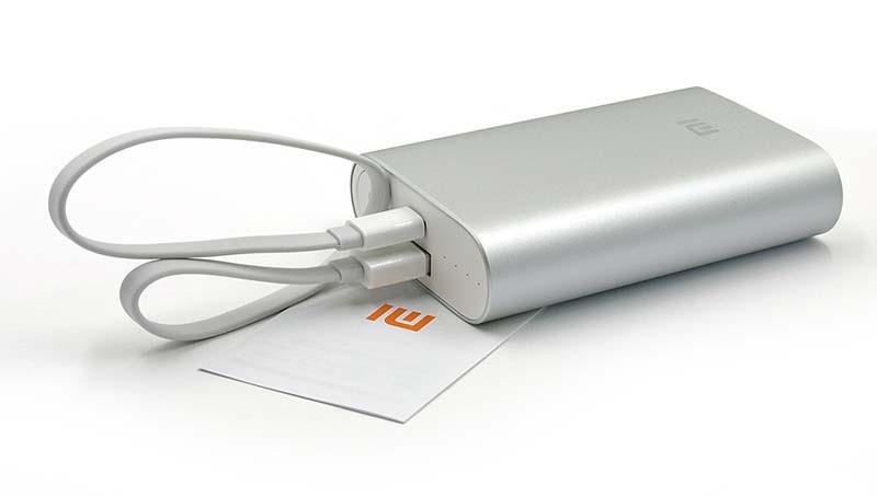 Портативная батарея Xiaomi 10000 mAh «Серебристая»