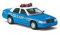 Машинка 1:42 Kinsmart легковая 5 KT5342AW FORD CROWN VICTORIA POLICE BLUE, металл
