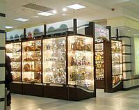 Витрины для сувенирной продукции