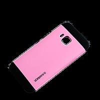 Бампер для HTC One M9 - SGP Slim Armor, розовый