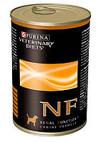 Консерва для собак Purina (Пурина) Veterinary Diets NF Renal Canine при заболеваниях почек и печени 400 гр