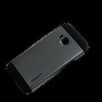 Бампер для HTC One M9 - SGP Slim Armor, серый
