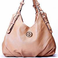 Женская сумка Tory Burch  бежевая, фото 1