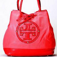 Женская сумка Tory Burch  красная, фото 1