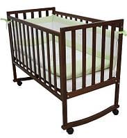 Кроватка для новорожденных Соня ЛД 13 Верес орех