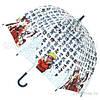 Зонт детский,прозрачный ,трость Zest. Механический.