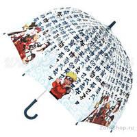 Зонт детский,прозрачный ,трость Zest. Механический., фото 1