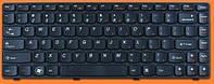 Клавиатура для ноутбука LENOVO (B470, G470, V470, Z370, Z470) eng, rus, black, фото 1