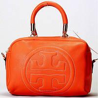 Женская сумка Tory Burch  оранжевая, фото 1