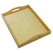 Поднос деревянный с ручками 30х40 см