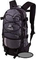 Надежный спортивный рюкзак Onepolar 15 литров серый черный