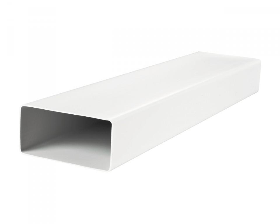 Воздуховоды плоские пластиковые Пластивент 55x110