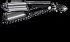 BaByliss BAB2469TTE Плойка для волосся потрійна Ionic 3D Hi-Def Waver 19мм BAB2469TTE-титан