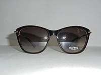 Солнцезащитные очки Miu Miu wayfarer 6869, очки фэйфэреры, модный аксессуар, очки, женские очки, стильные