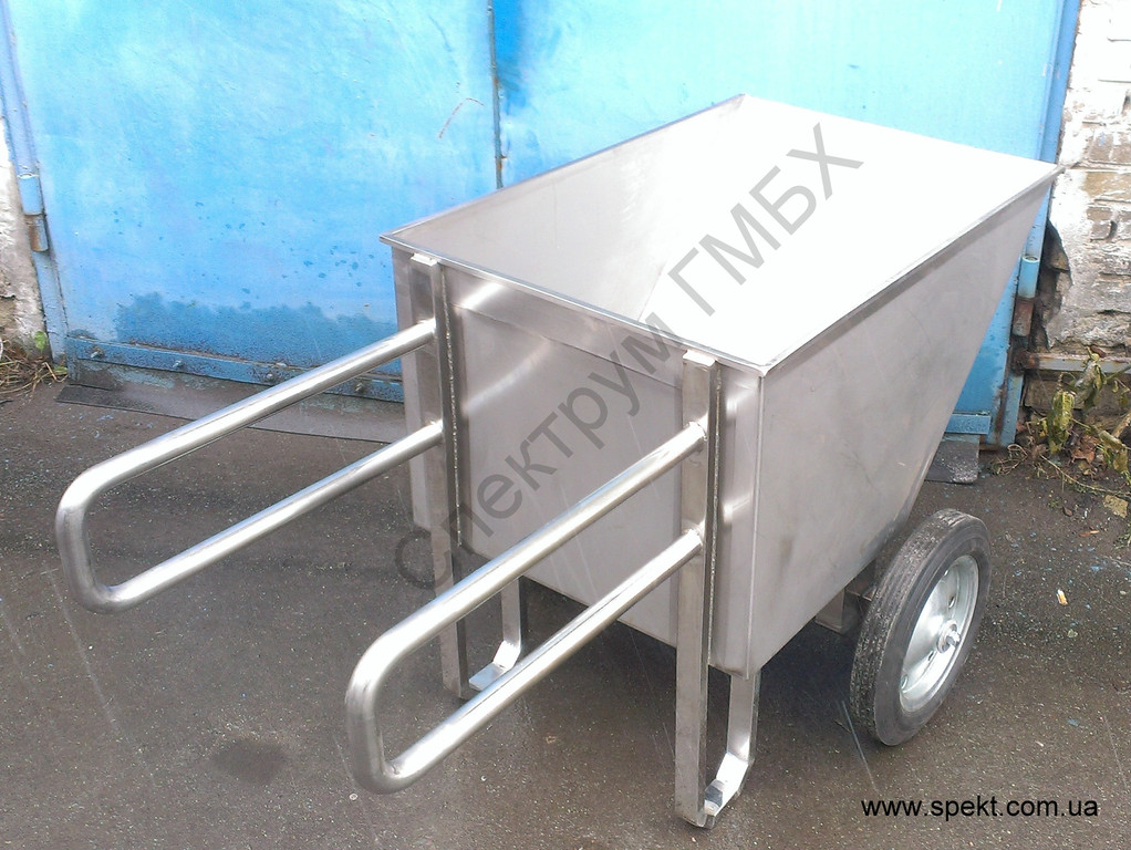 Рикша. Тележка рикша для перевозки пищевых продуктов