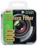 Съёмочный светофильтр PowerPlant UV 58 мм