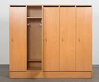 Шкаф 5-дверный для раздевалки в детском саду БУК
