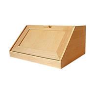 Хлебница деревянная прямоугольная