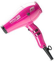 Профессиональный Фен Parlux 385 Ceramic & Ionic Power Light розовый 2150W