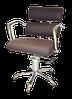 Крісло клієнта 6513 brown