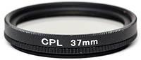 Съёмочный светофильтр PowerPlant CPL 37 мм