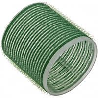 Sibel Бигуди на липучке зеленые 61мм 6шт