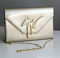 Женская сумка Zanotti бежевая, сумка через плечо