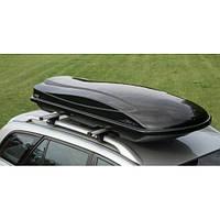 Автомобильный бокс на крышу Amos Travel Pack 500 Black